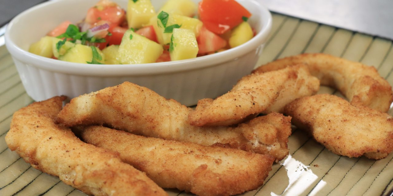Coconut Crusted Chicken Fingers Recipe