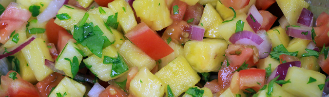 POTG's Pineapple Salsa