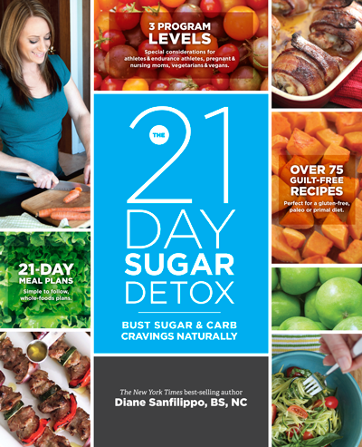 21 Day sugar detox book cover