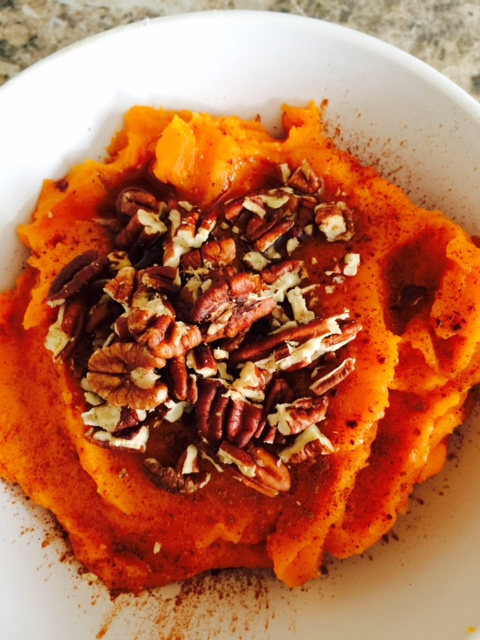 Thanksgiving: Mashed Sweet Potato