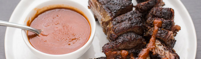 BBQ Boneless Beef Short Ribs