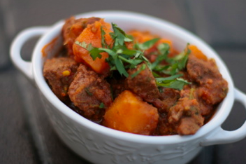 Crock Pot Beef Tangine with Butternut Squash