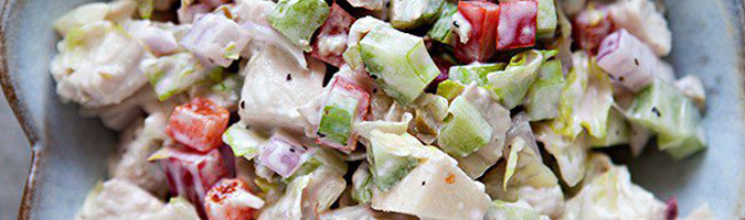 5 Ingredient Chicken Salad – Easy Peasy Paleo