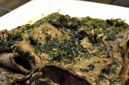 Chimichurri Recipe- St. Patricks Day Sauce