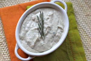 Paleo Cream of Chicken and Herb Soup