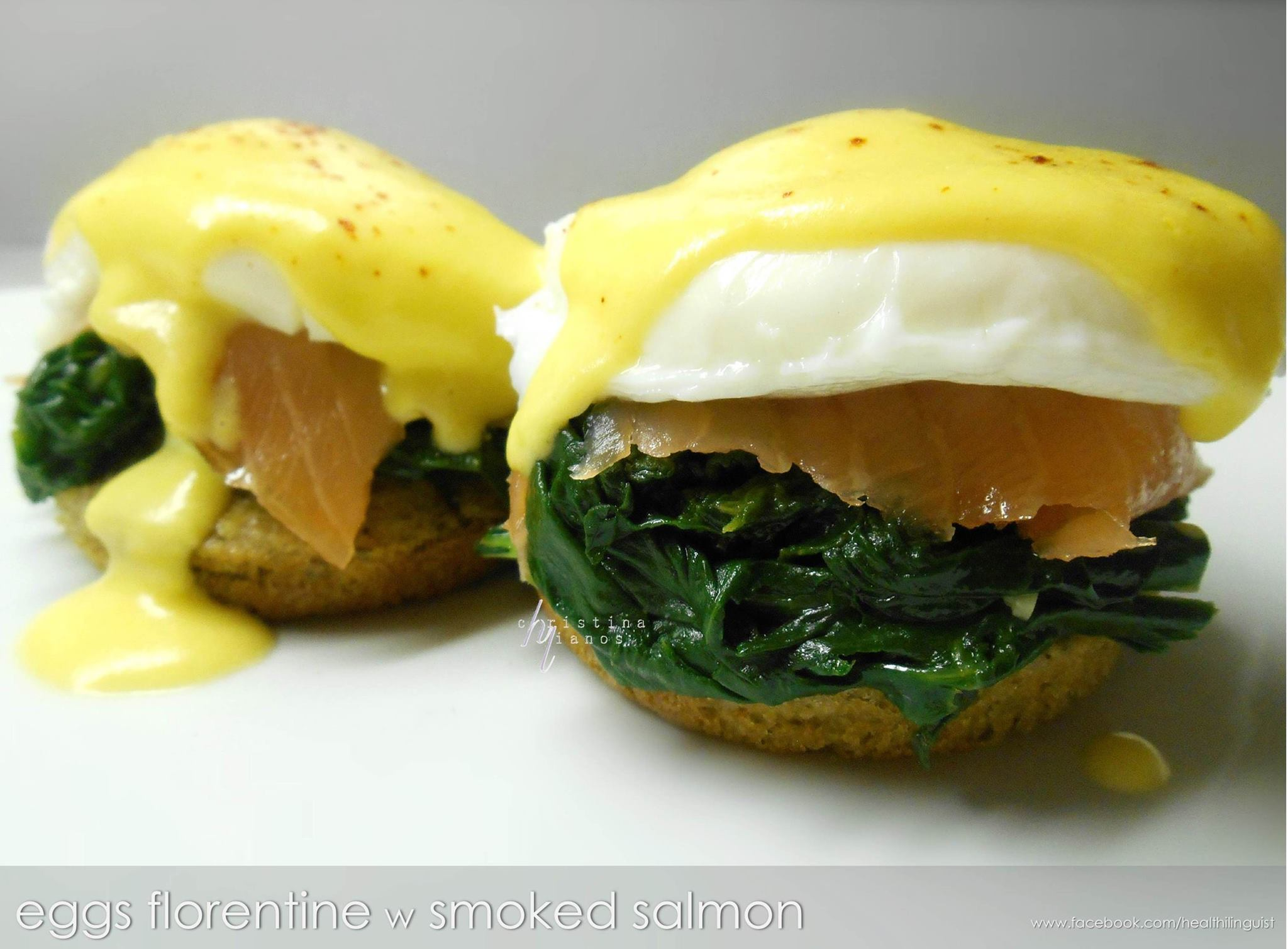 Eggs Florentine with Smoked Salmon