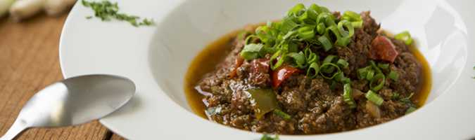 Grass Fed Beef Chili
