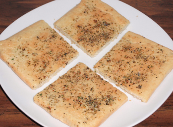 Just For Your Health- Paleo Focaccia