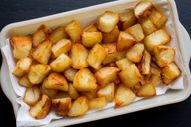 Roasted Duck Fat Potatoes