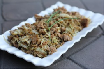Sausage and Cabbage Noodles