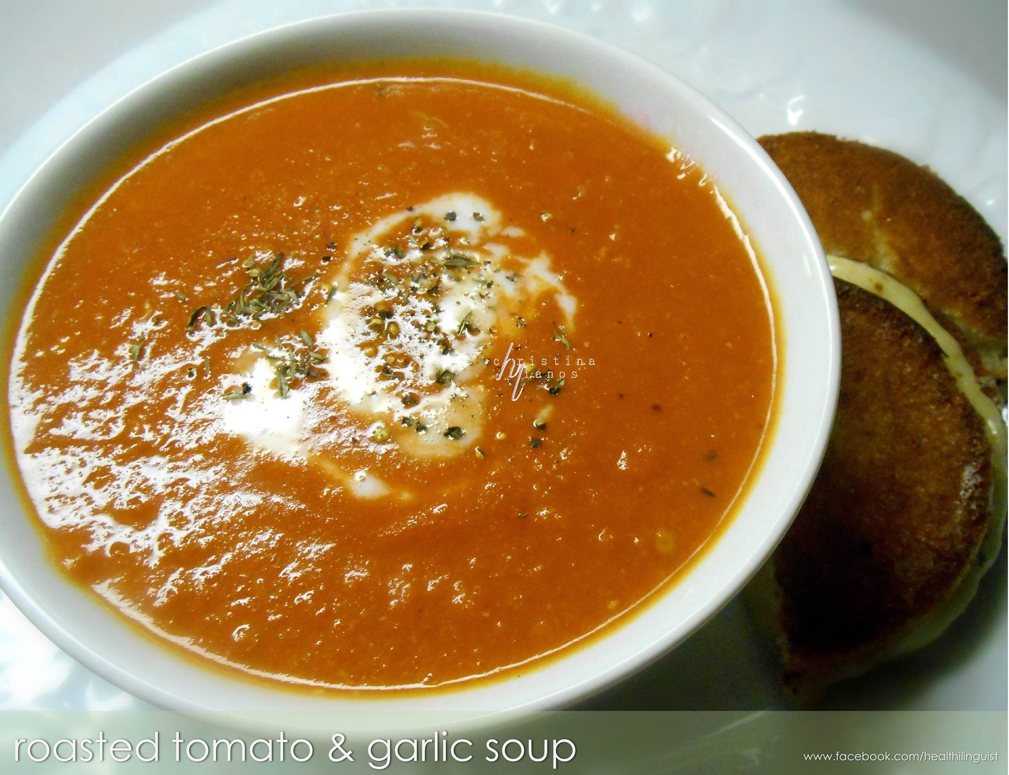 Tomato Garlic Soup