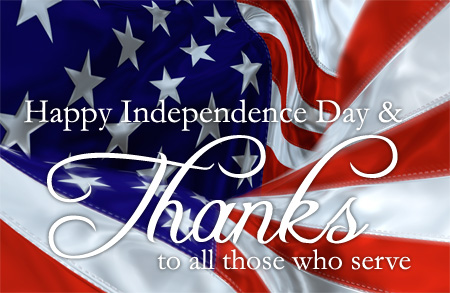 independence day thank you
