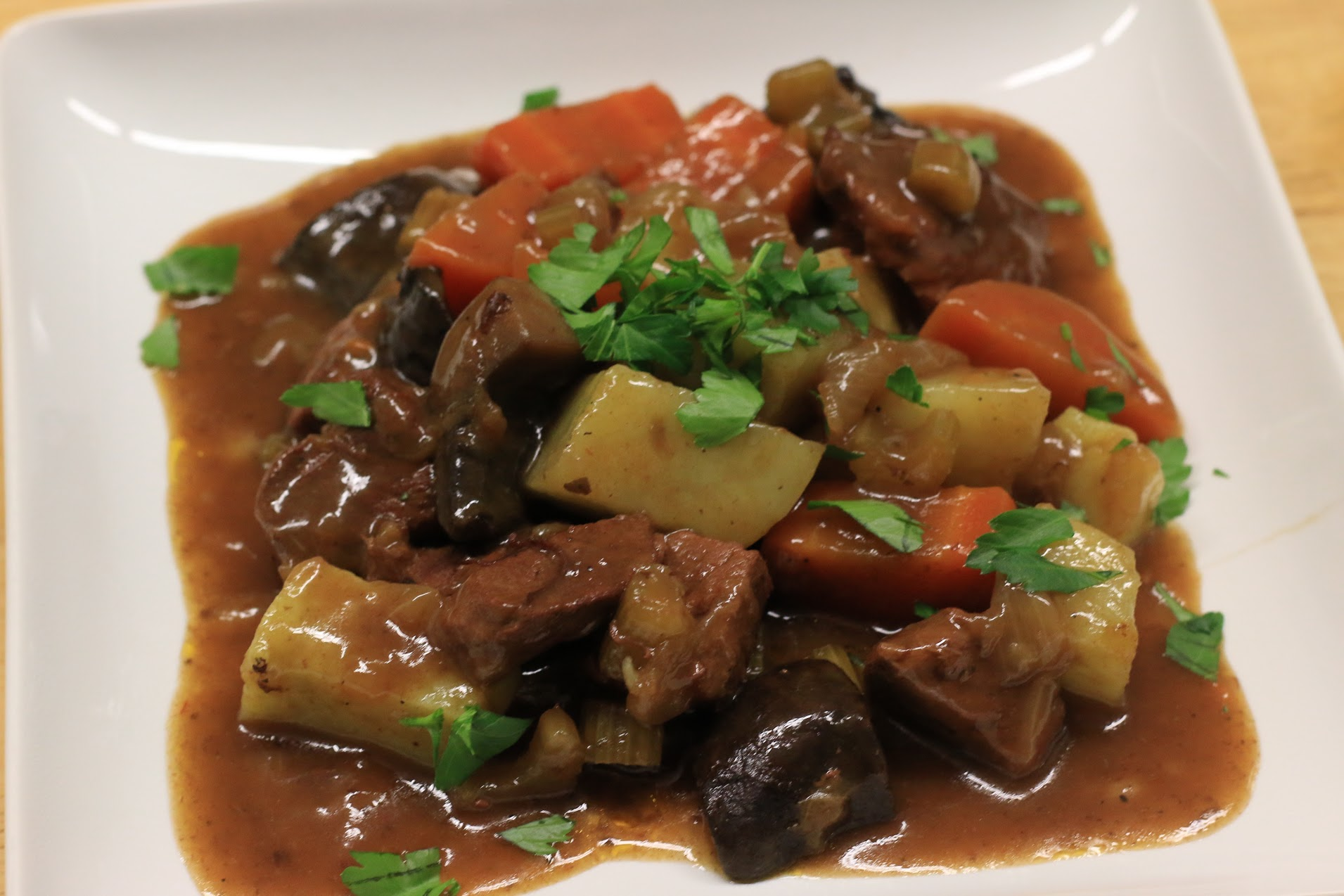 No-Guinness Beef Stew