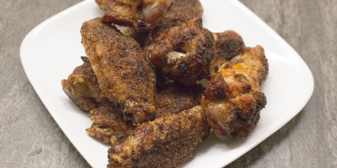 Paleo Dry Rub Wings