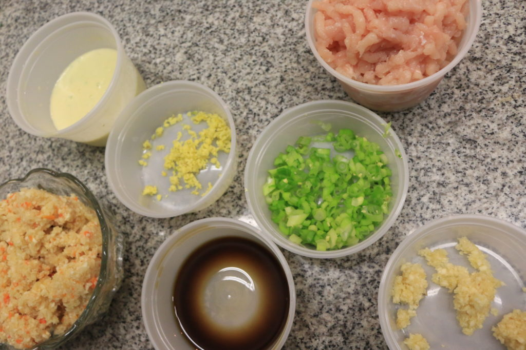 paleo chicken burger ingredients