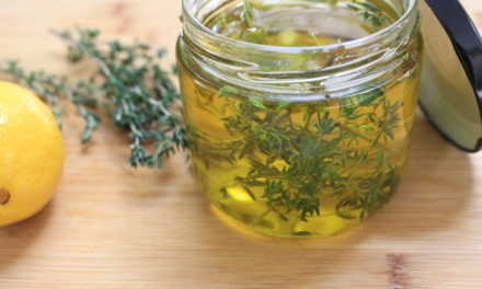 Lemon Thyme Infused Olive Oil