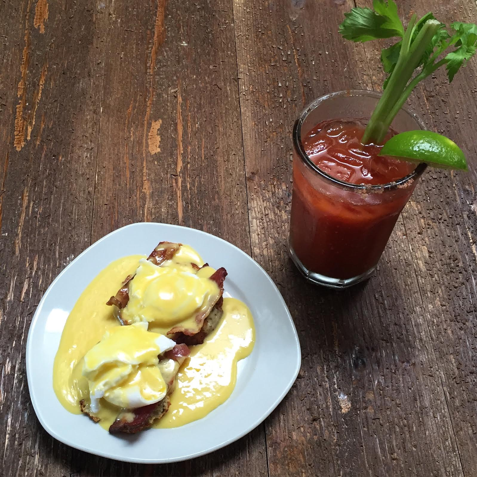 Paleo Brunch: Bloody Mary and Eggs Benedict