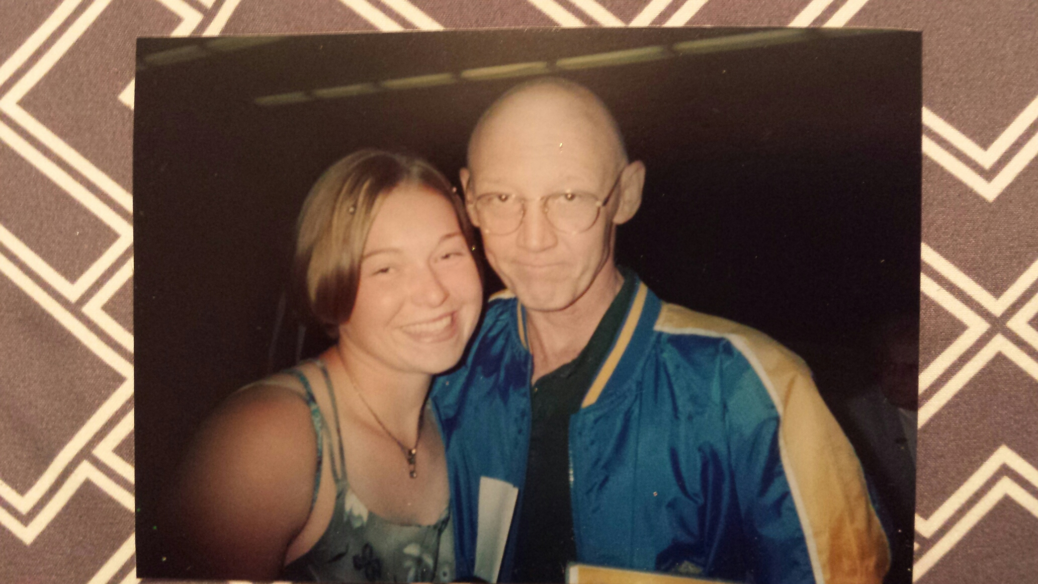 The winner of our Phoenix Helix anniversary giveaway shares her experience with cancer, and how it has inspired her to eat healthy. The wake up call was enough to make her change all of her eating habits into a paleo-like lifestyle. Here is Cassie posing with her dad several years ago.