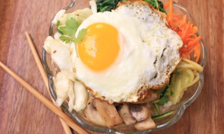 Korean Bibimbap (Rice Bowl)