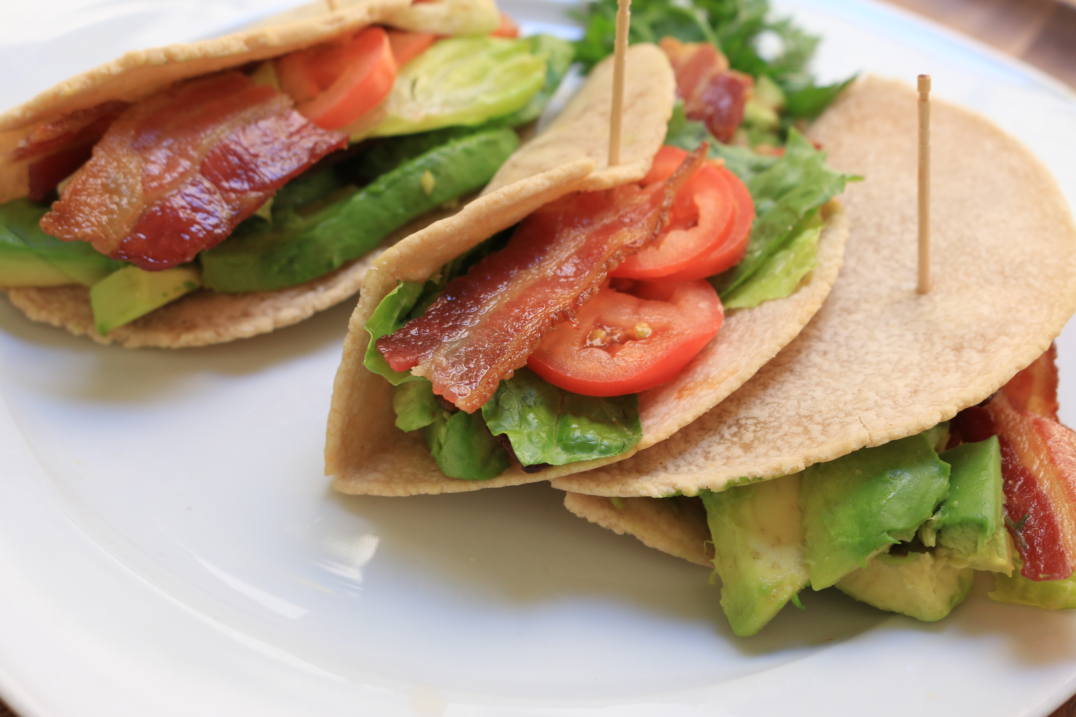 Tasty and delicious, our paleo BLT wrap is a great way to get more bacon in your diet. Oh, and veggies too.