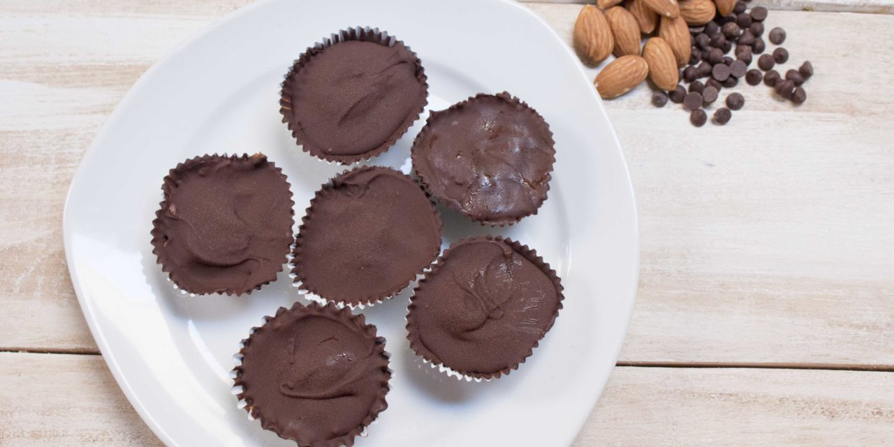Almond Butter Chocolate Cups