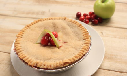 Paleo Grain Free Apple Cranberry Pie