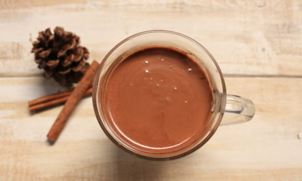 Cinnamon Infused Paleo Hot Chocolate