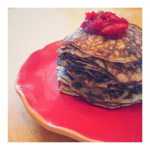 paleo pancakes New Year's Resolutions