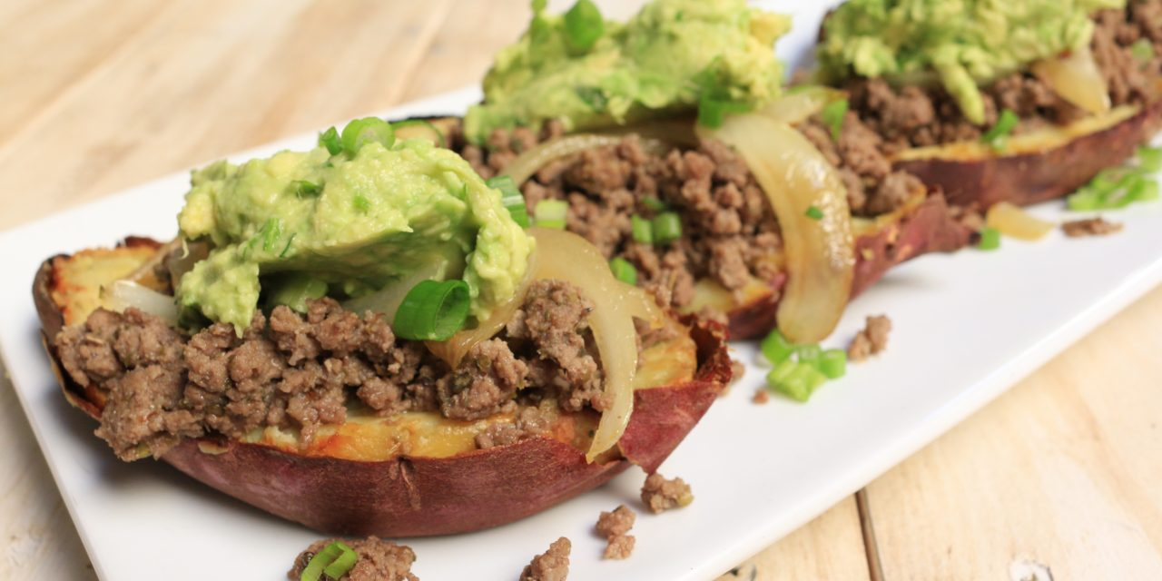 AIP Stuffed Sweet Potato Breakfast Tacos – Paleo on the Go