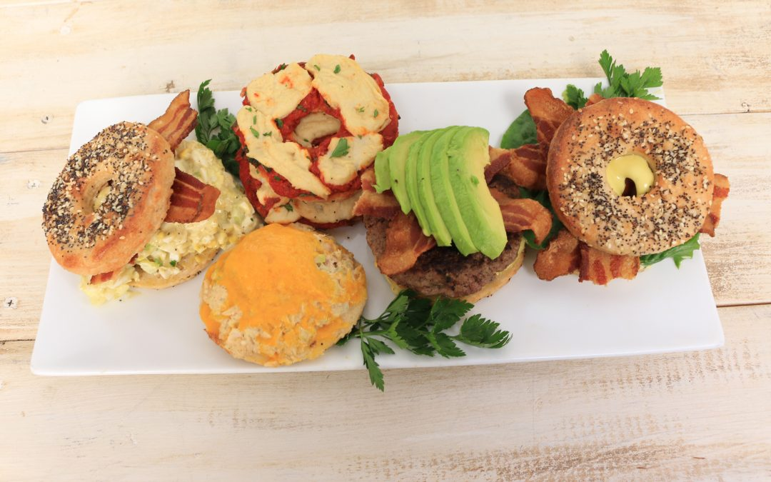 Five Great Everything Bagel Sandwiches