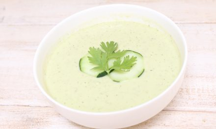 Creamy Avocado Cucumber Soup (AIP)