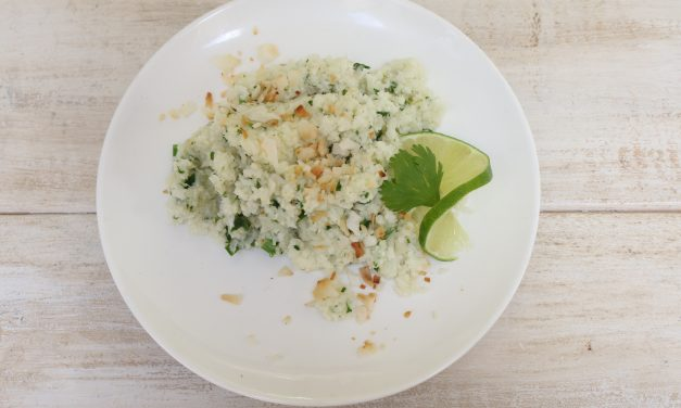 Tangy Island Cauliflower Rice