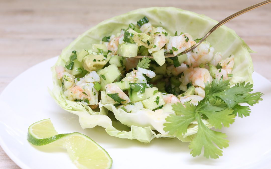 AIP Shrimp Ceviche with Avocado and Apple