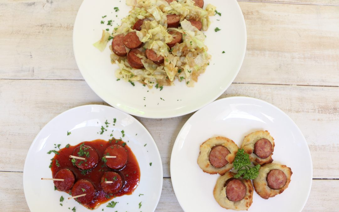 Three Great Ways to use No Sugar Smoked Kielbasa