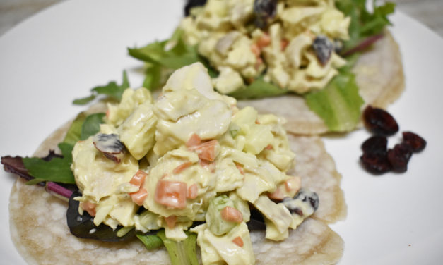 Paleo Lunchbox: Quick & Easy Chicken Salad Wraps