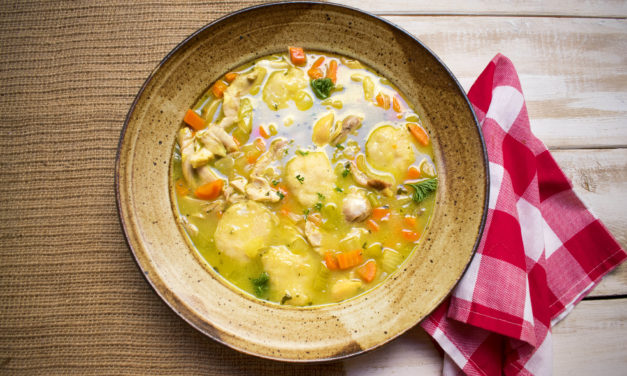 AIP/Paleo Chicken and Dumplings