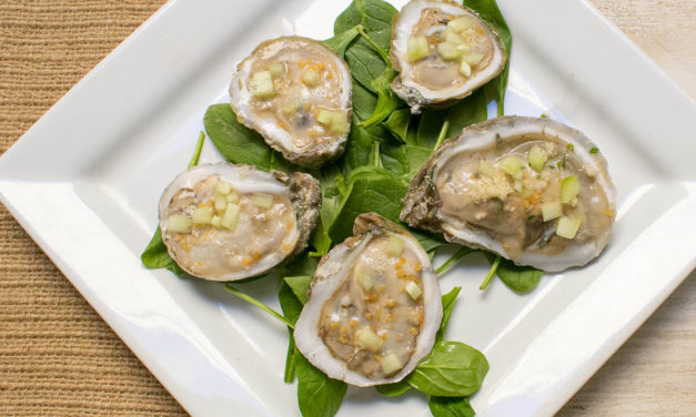 AIP Oyster Bar – Grapefruit and Horseradish Oysters