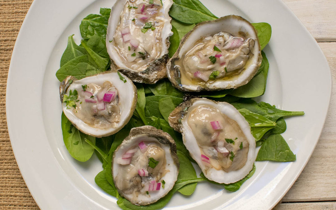 AIP Oyster Bar – Oysters Mignonette