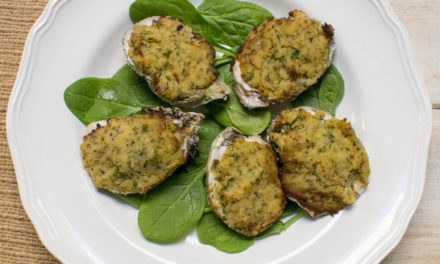 AIP Oyster Bar – Oysters Oreganata