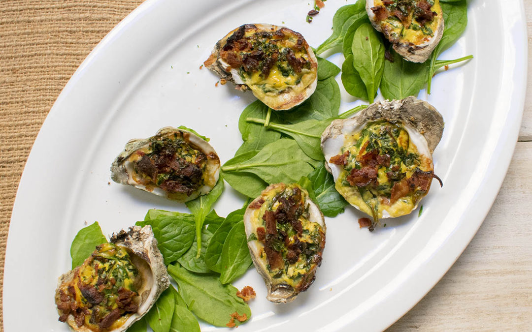 AIP Oyster Bar – Oysters Rockefeller