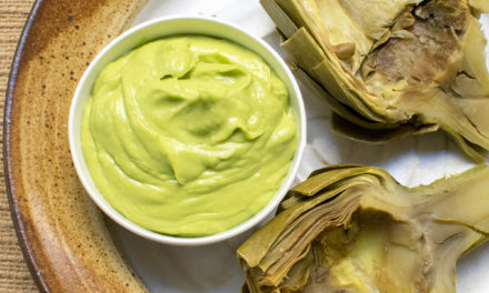 Instant Pot Artichokes with Lemon Avocado Dip (AIP)