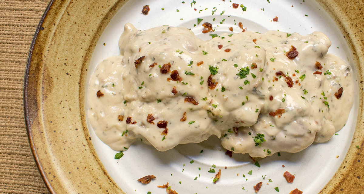 Four Great Ideas for our Creamy Chicken with Bacon Alfredo (AIP)