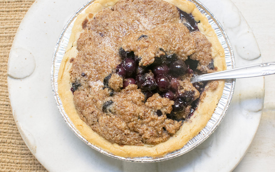 Fresh Blueberry Crumble (AIP)