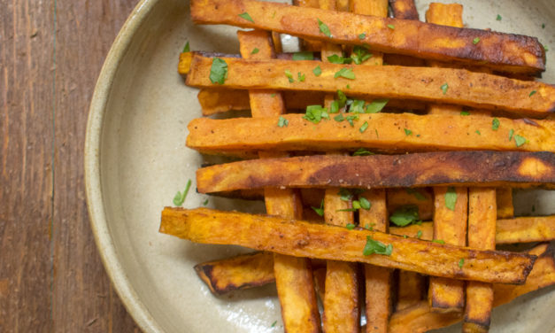 AIP Spiced Sweet Potato Fries – POTG Test Kitchen