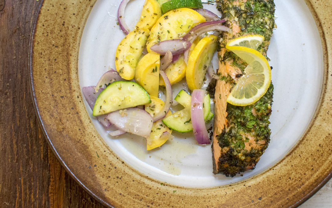 Lemon Garlic Herb Salmon (AIP) – POTG Test Kitchen