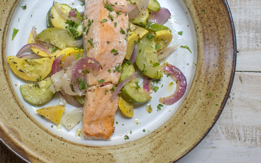 Salmon And Vegetable Foil Packs (AIP) – POTG Test Kitchen
