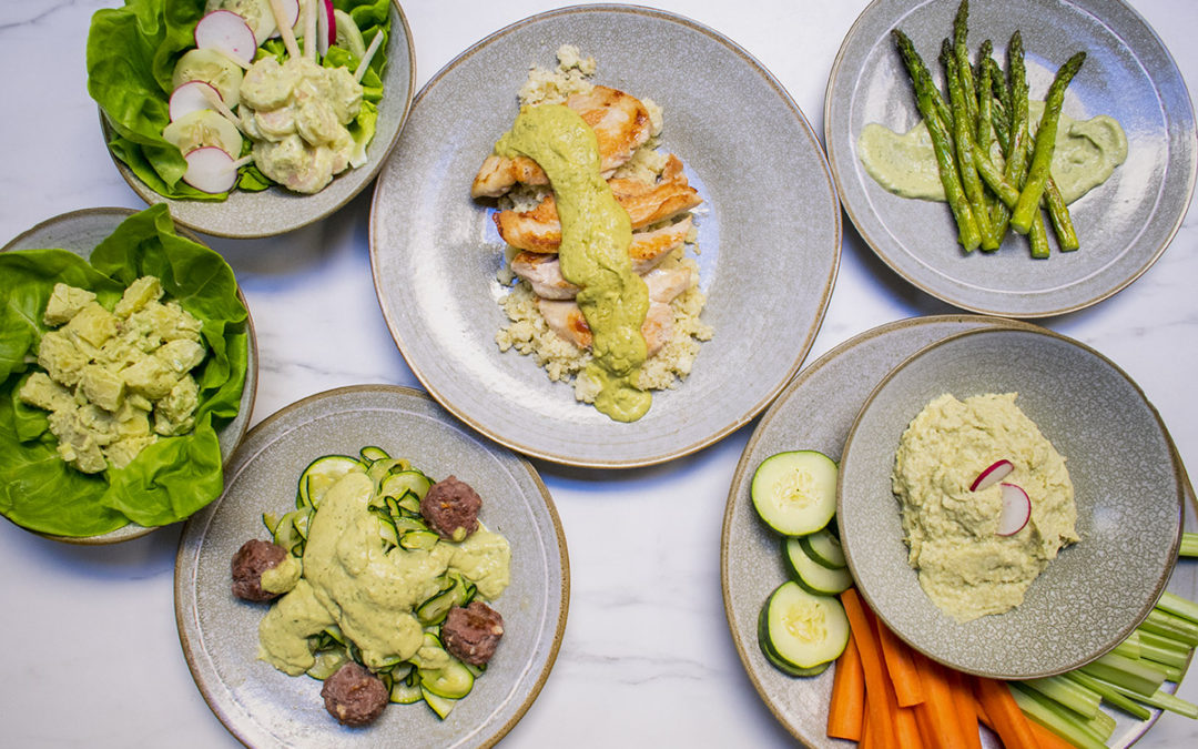 Six Great ways to use Our Lemon Dill Avocado Sauce – POTG Test Kitchen