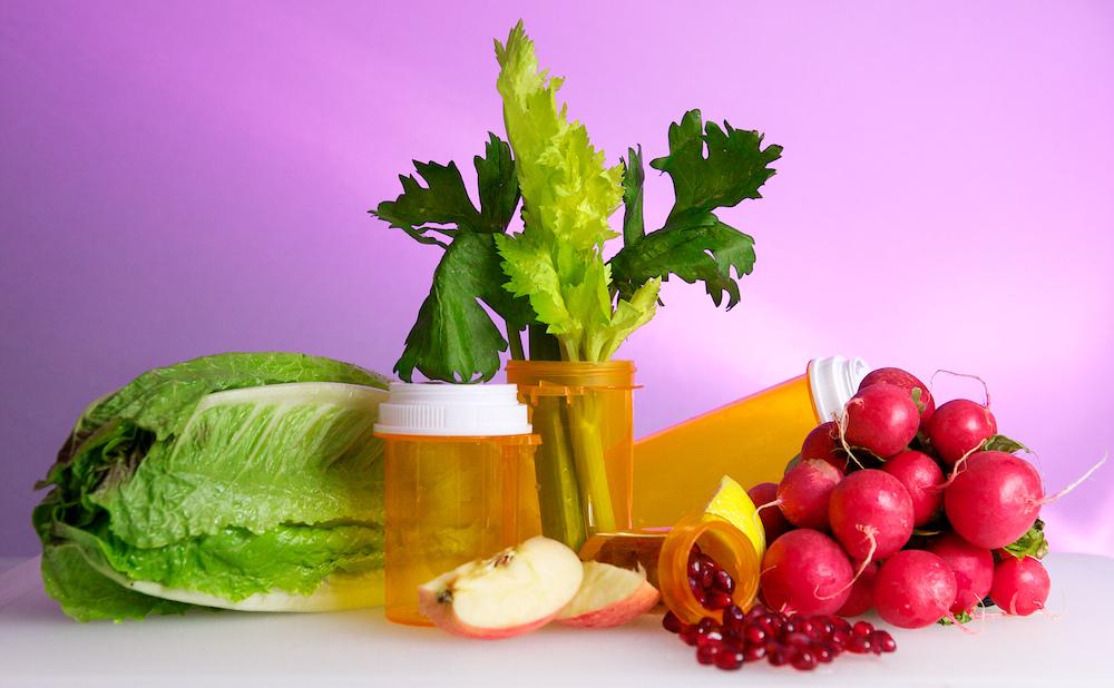 Real Food Vs. Medicine