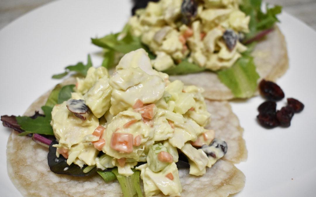 Paleo Lunchbox: Quick & Easy Chicken Salad Wraps