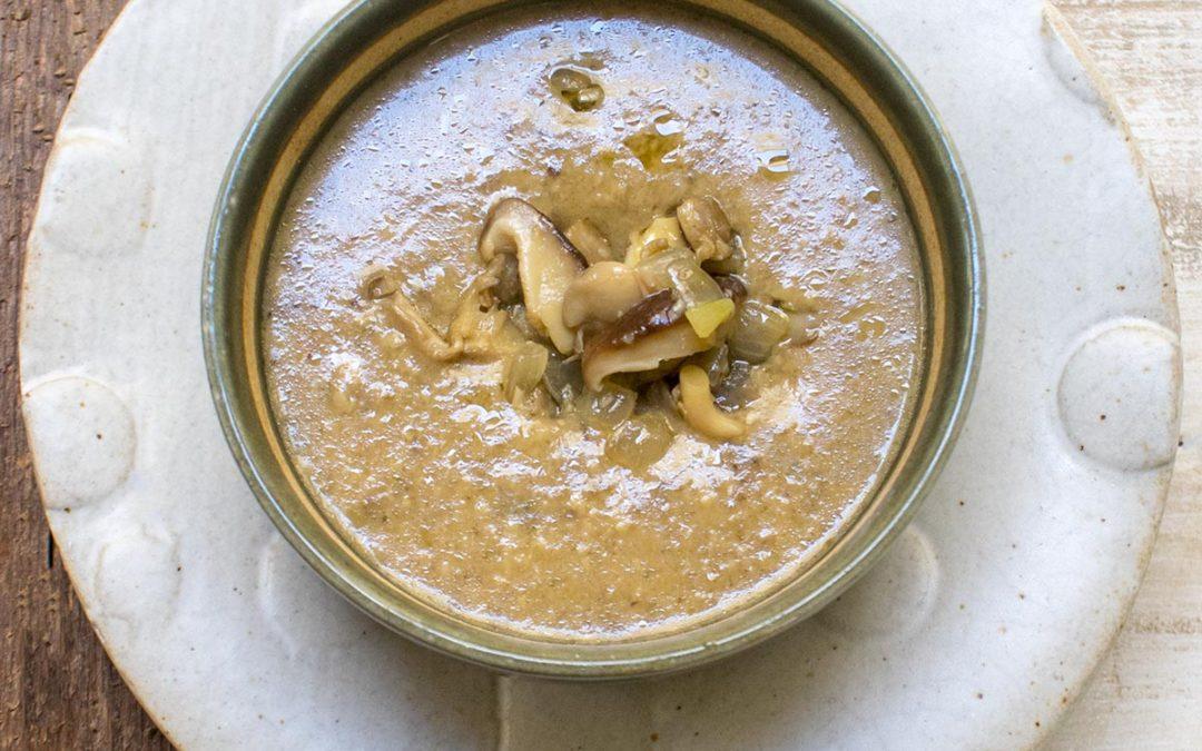 Creamy Mushroom Bisque – POTG Test Kitchen